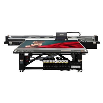 Picture of Mimaki JFX200-2513EX Flatbed UV Printer