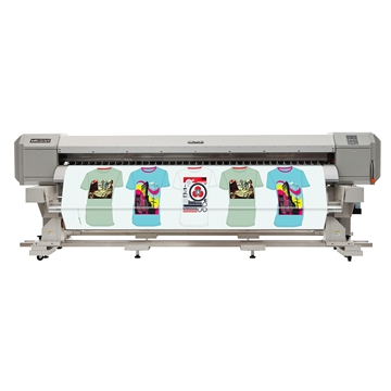 Picture of Mutoh ValueJet 2638W Printer & Take Up Unit ZMY-14630